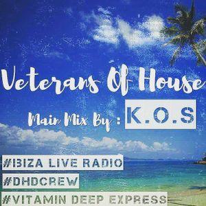 Veterans Of House Mixed by K.O.S[Vitamin Deep Recordings]