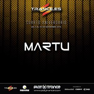 Martu @ Trance.es Fourth Anniversary (12/11/2018)