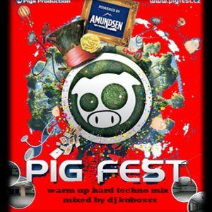 pig fest warm up hard techno mix