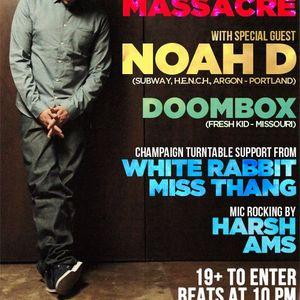 Doombox live at Dubstep Massacre