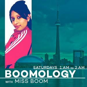 Boomology with Miss Boom - Saturday November 28 2015