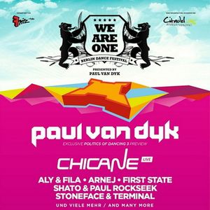 Chicane - Live @ WE ARE ONE Festival, Citadel Spandau, Berlin (06.07.2013)