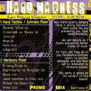 CrimeTekk - Hard Madness Promo