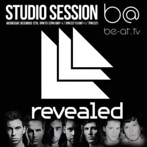 Hardwell - Be-At.TV Studio at Revealed Recordings Night (Amsterdam) - 12.12.2012