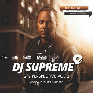 DJ SUPREME - G'S PERSPECTIVE VOL.2  Hosted by LEFTSIDE, JASON STATHAM & JONESMANN!