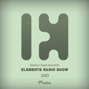 Danny Lloyd - Elements Radio Show 040