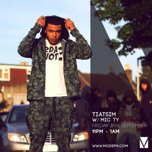 08/09/2017 - Tiatsim w/ Mic TY - Mode FM