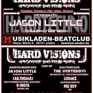 HARD VISIONS Set by B-Shock @ Beatclub Emden