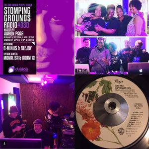Stomping Grounds Episode 030 wsg C- Minus, Monalisa, Adam12 & Beejay (2nd Annual Purple Edition)