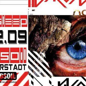 der_gestörte aka Nekrophil (live!) - Microsleep @ Sandsteinhöhlen, Halberstadt (2009-12-05)