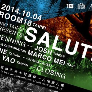 "Marco Mei Live Recording - Ciao Taipei presents ""SALUTI"" - Room 18 - Taipei - Saturday 4th October 2"