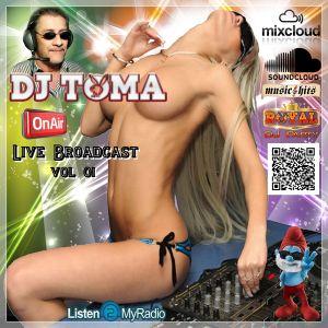 Dj Toma - Royal Dj Party (Live Broadcast 01)
