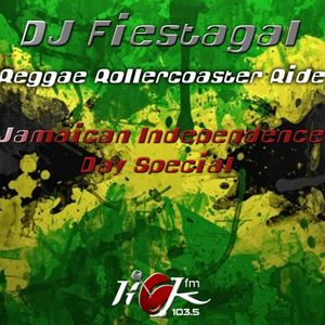 Midweek Reggae Rollercoaster Ride with DJ Fiestagal - 3rd August 2016