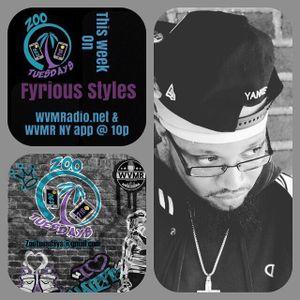 Zoo Tuesdays 1-30-18 w/ Fyrious Styles