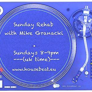 Sunday Rehab 50 - Mike Granacki - HouseBeat Radio - 27032016