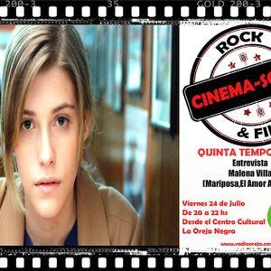 21x05 Entrevista a Malena Villa     (Mariposa,La Niña Elefante,La Verdad)