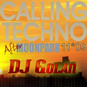 DJ Golan @ After MOONPARK (CALLING TECHNO!) 11-09-11