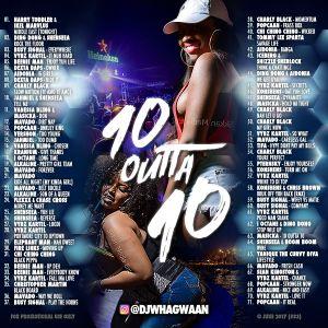 VA-Dj WhaGwaan - 10 Outta 10 (Promo Cd) 2017