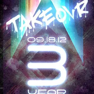 Drop The Lime mix for Takeovr's 3 Year Anniversary!