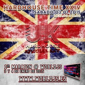 1er MARATON WORLDJS - Hardhouse Time Podcast#024 03/01/2015