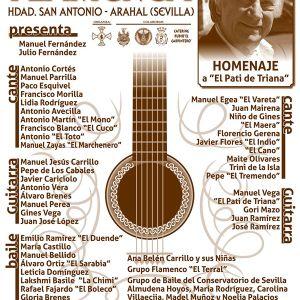 3ª noche flamenca de San Antonio.