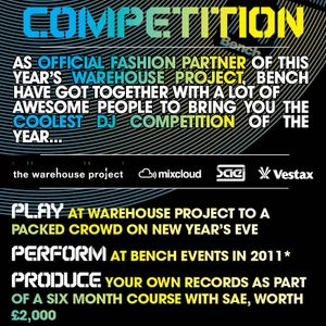 Bench Warehouse Project Competition Mix