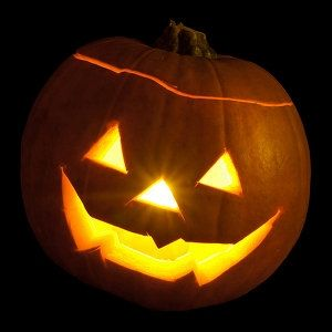 Halloween House for KXCI