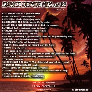 Dance Bombs Mix vol. 22 (15.9.2012) By Deejay-jany
