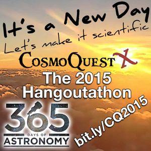 Hangout-a-Thon 2015 - Katie Mack - Dark Matter, Big Bang, LHC & Stuff :^)