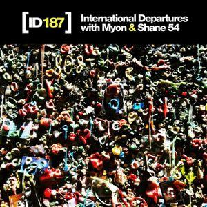 International Departures 187