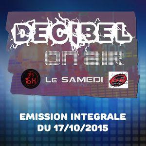 17/10/2015 Emission Intégrale
