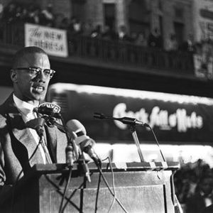 Malcolm X in NYC