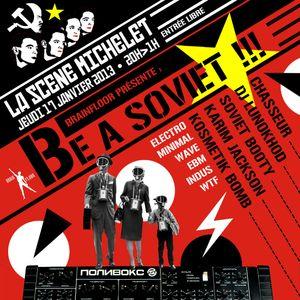 DJ Lunokhod - Be a Soviet !