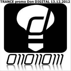 TRANCE promo Don DIGITAL 13.12.2012