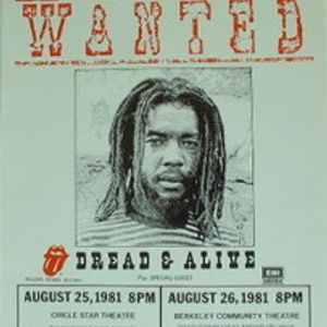 Peter Tosh - Wanted Dread & Alive Demos