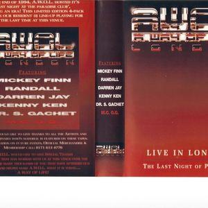 1994-12 Randall Kenny Ken - Last Night @ Paradise - AWOL