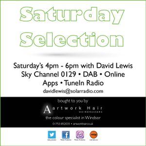 30-12-17 The Artwork Saturday Selection on Solar Radio with David Lewis & artworkhair.co.uk