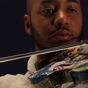 FULL INTERVIEW of Damien Escobar, 2-time Emmy winner and hip hop violinist, at WJCT studios