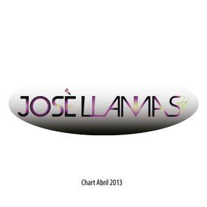 Jose Llamas Chart Abril 2013