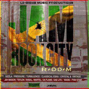 JamRock City Riddim (le gions music 2018) Mixed By SELEKTA MELLOJAH FANATIC OF RIDDIM