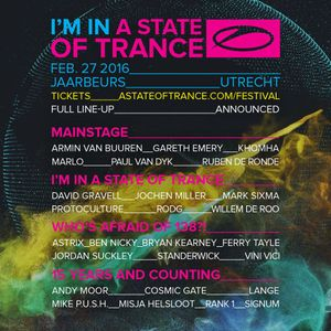 Lange – Live @ A State Of Trance Festival, 15 Years & Counting Stage (Utrecht, Netherlands) – 27-FEB