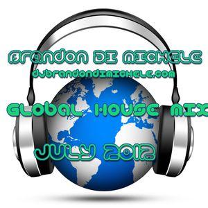Brandon Di Michele - Global House Mix - July 2012