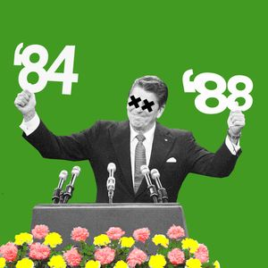 Reagan's 2nd Term - A 1984 to 1988 Megamix