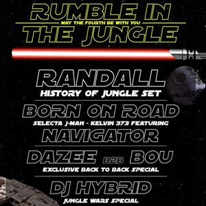 DJ Hybrid - May the 4th Be With You - Rumble In The Jungle Promo Mix - May 2018