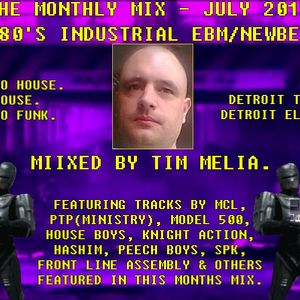 The Monthly Mix - July 2015 - Mixed By Tim Melia.