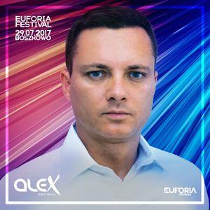 DJ ALEX live at EUFORIA FESTIVAL Boszkowo (2017-07-29)