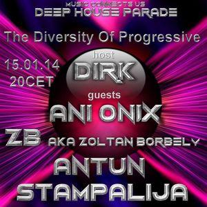 Ani Onix - Guest Mix - The Diversity Of Progressive o5 (15th January 2014)