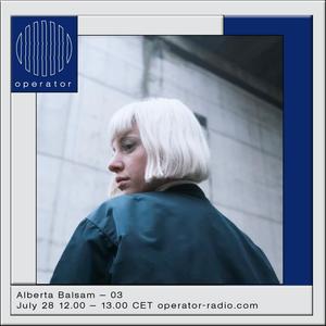 Alberta Balsam - 28th July 2017