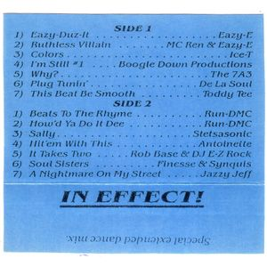 Dr. Dre - In Effect (Side A)
