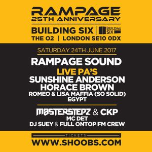 Rampage 25th Anniversary - Sunshine Anderson vs Horace Brown Mix